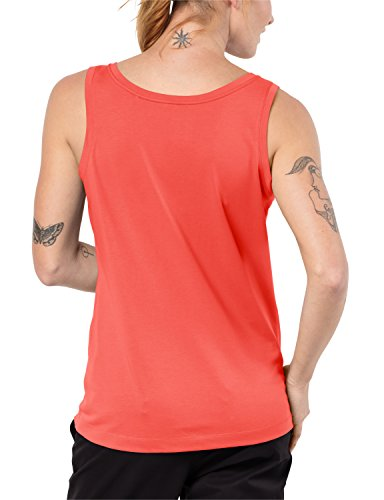 Jack Wolfskin Femme essentialop T-shirt Hot Coral