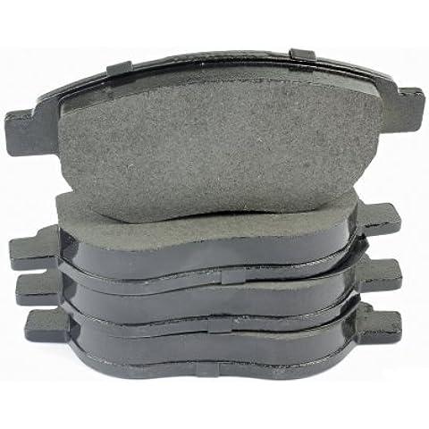 Hella 8dB 355013–rivestimenti 911(T1766) Kit pastiglie freno asse anteriore, contenuto: 4
