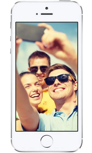 Apple iPhone 5S Argent 16Go Smartphone Débloqué (Reconditionné Certifié)