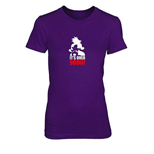 (DBZ: Transformation - Damen T-Shirt, Größe: M, Farbe: lila)
