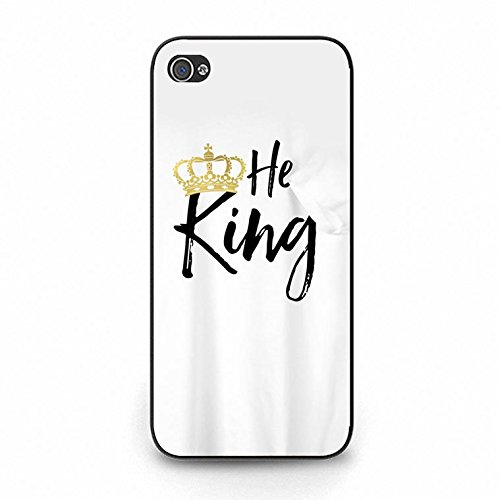 Lovers Boyfriend Girlfriend Couple Phone Hard Case Cover for Iphone 5c King Queen Couples PC Cover Case Color139d