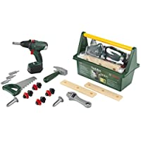Theo Klein 8520 Bosch Tool Box with Cordless Drill II, Toy, Multi-Colored
