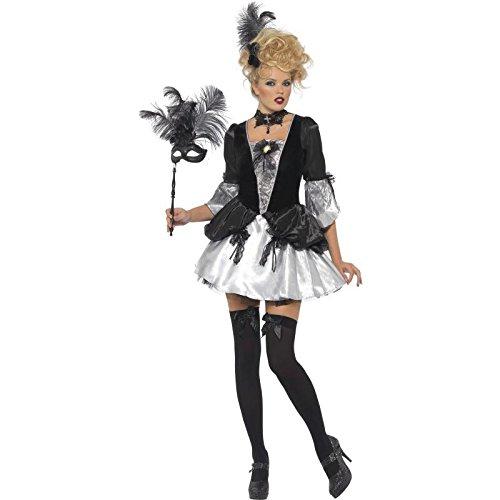 Smiffys - costume per travestimento in stile barocco, donna, taglia: m