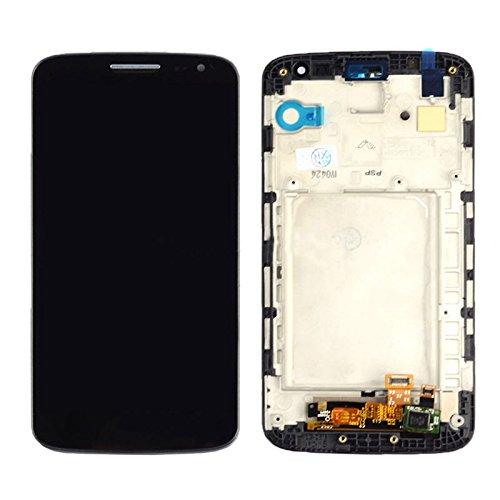 Tedbear Reparatur des LCD-Bildschirms LCD Display + Touch Panel mit Rahmen inklusive Reparatur-Toolset for LG G2 Mini / D620 / D618 Glasscheibe Ersatz (Farbe : Black) (Lg G2 Display Lcd Austausch)