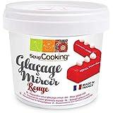ScrapCooking Glaçage Miroir Rouge 220 g