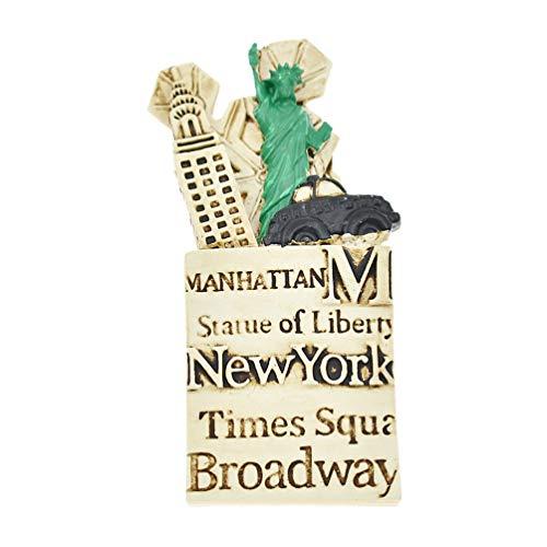 Hongma Magnete New York Amerikanisch für Kühlschrank Pinnwand Whiteboard Dekor Geschenk - Stadt Amerikanischen