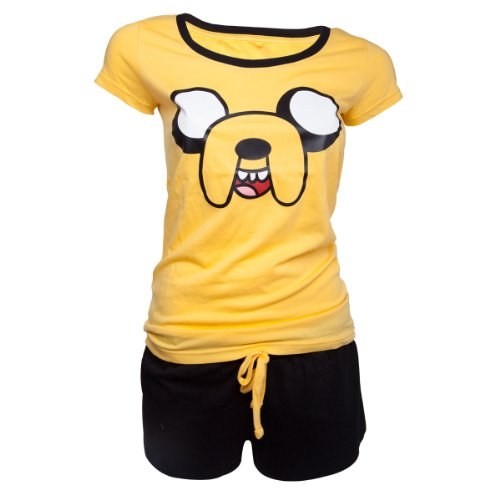 Adventure Time Jake Pigiama giallo XL