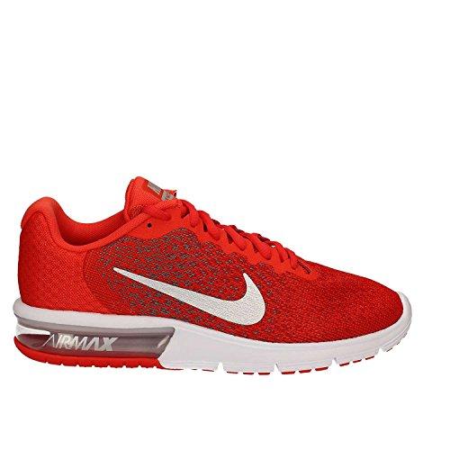Nike Air Max Sequent 2, Orange Chaussures De Course