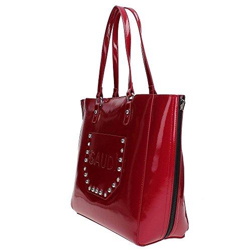 Gaudì V7A-70451 Shopper Donna Rosso