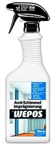 Wepos 00019 Spray pour imprégnation anti-moisissure 750 ml