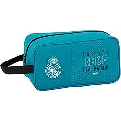 Real Madrid SAFTA Zapatillero 3ª Equip. 17/18 Oficial Zapatillero Mediano 290x140x150mm