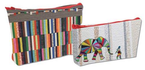 Elephant and I - Eco Pouch Set