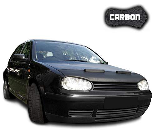 Black Bull Haubenbra Golf 4 CLEAN Carbon Automaske Steinschlagschutz Tuning Maske Bra Steinschlagschutzmaske