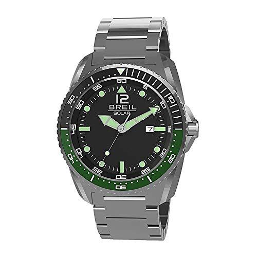 BREIL Reloj SUBACQUEO SOLARE Hombre Sólo el Tiempo Titanio - TW1754