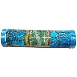 Bhutan Türkis Himalaya Wacholder Weihrauch - Original Fair Trade Handgerollt Dhoop Weihrauch in schöner Deko Verpackung - enthält ca. 21 stäbe, jedem Stäbchen ist ca. 20 cm lang