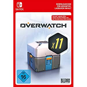 Overwatch 11 Loot Boxes  | Nintendo Switch – Download Code