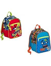 Preisvergleich für Seven, Kinderrucksack Mehrfarbig Rosso E Blu