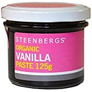 Steenberg S Vainilla Orgánica Pasta 125g (Paquete de 6)