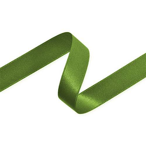 itiges Satinband, 6, 10, 15oder 25mm breit, 23m, Shamrock Green, 15 mm ()