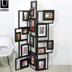 umbra treble floor standing photo frame kitchen home. Black Bedroom Furniture Sets. Home Design Ideas