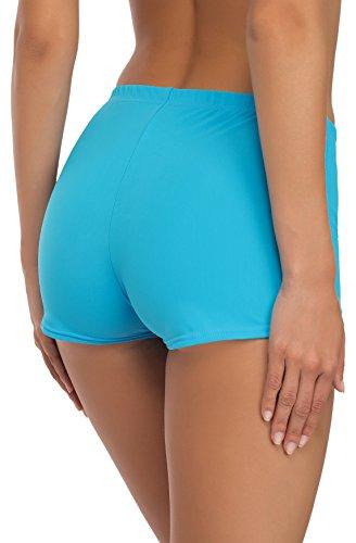 Merry Style Costume a Pantaloncino da Nuoto per Donna Modello L23L1 Blu (6046)