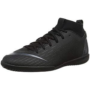 Nike Unisex-Kinder Fußballschuh Superfly Vi Academy JDI Ic Fitnessschuhe, Schwarz