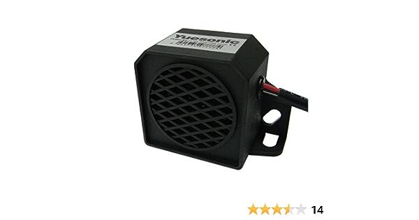 Yuesonic 97db White Noise Backup Alarm Rückfahrwarner Mit Draht Anschluss Für Fahrzeuge Auto