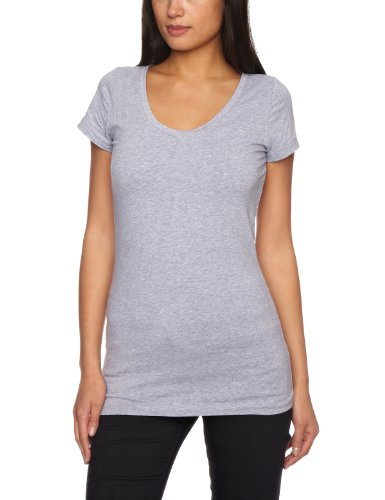 G-STAR Damen Kurzarm T-Shirt Grau (grey htr  906)