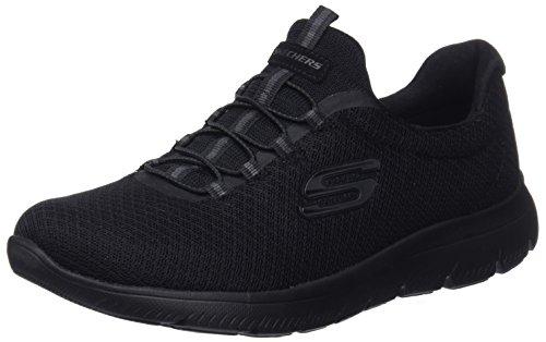 Skechers 12980, Zapatillas para Mujer, Negro (Black), 39 EU