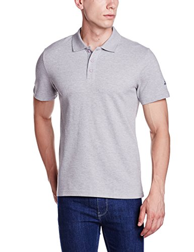 adidas Herren Essentials Base Poloshirt, Medium Grey Heather, L (Base Polo)