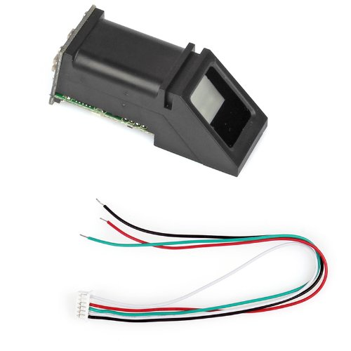 Produktbild Optical Fingerprint Reader Sensor Module Fingerprint Recognition Module All-in-one Optischer Fingerabdruck-Lesegerät-Sensor Für Arduino Locks *Schwarz*