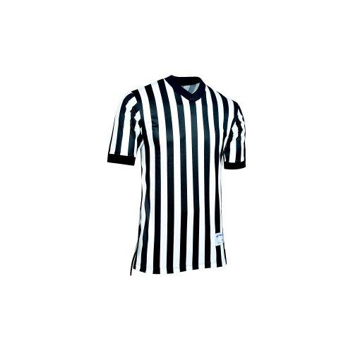 Champro Whistle Offizielles Dri-Gear-Trikot, feuchtigkeitsableitend, schwarz/weiß -