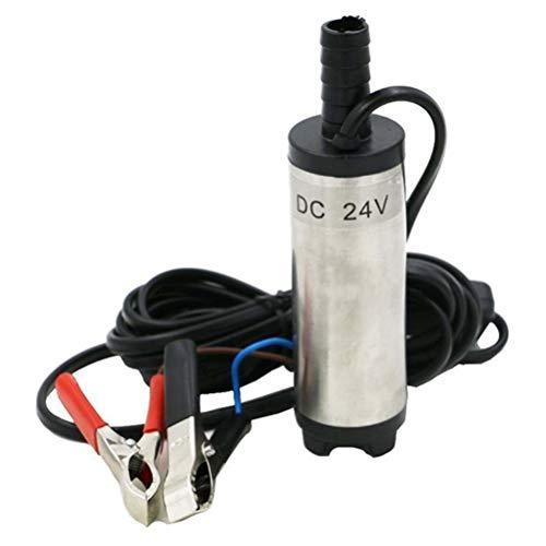 Dayoly diametro 3.8cm 12V DC diesel Fuel Water oil, acciaio INOX pompa sommersa acqua olio gasolio pompa di trasferimento per auto moto a cambiamento di olio