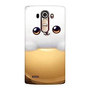 Delighted Cutest Fluffy Kitty Back Case Cover for LG G4