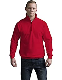 JH046 Sophomore 1/4 Zip Sweatshirt Sweat Pullover