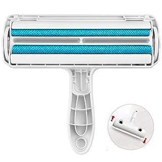 SSstar Wiederverwendbare Haustierhaar-Roller, leicht zu reinigende Tierhaare - entfernen Sie Hunde, Katzen und andere Tierhaare von Möbeln, Bettwäsche, Autokleidung, Couch Sofa, Teppich