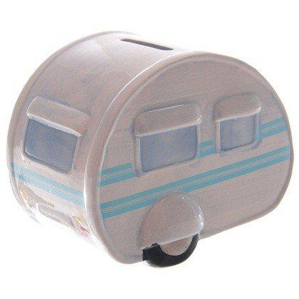 Fidget Cubes Z883920 - Hucha, diseño de Caravana, Color Azul