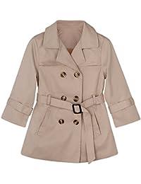 6fd98164fd3c CARETOO Baby Jacke Mädchen Jungen Mantel Trenchcoat Sweatjacke Kinderjacken  Kleidung Outerwear 2-7 Jahre alt
