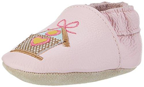 Rose & Chocolat Song Bird, Chaussons pour Enfant bébé Fille