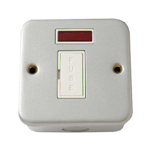Bulk Hardware BH03700 no conmutado Metal Revestido Fusible con indicador de neón