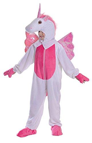 Fancy Me Mädchen Mythisch Einhorn Pegasus Tier Märchen Welttag des buches-Tage-Woche Karneval lustiges Kostüm Outfit ()