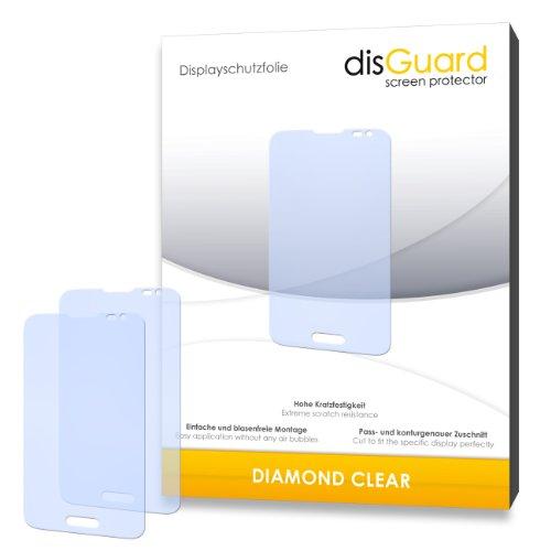 3 x disGuard® Schutzfolie LG L70 Displayschutz Folie
