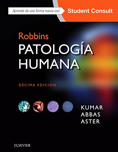 Portada del libro Robbins. Patología humana. Student Consult - 10ª edición
