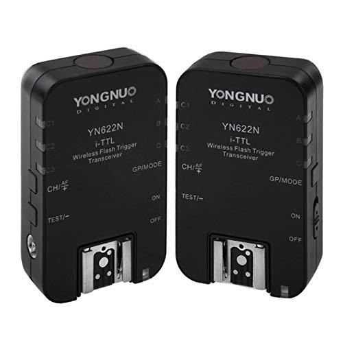 2 PCS YN622N i-TTL Funk-Flash-Trigger-Transceiver Dauerhaft Nikon Sync