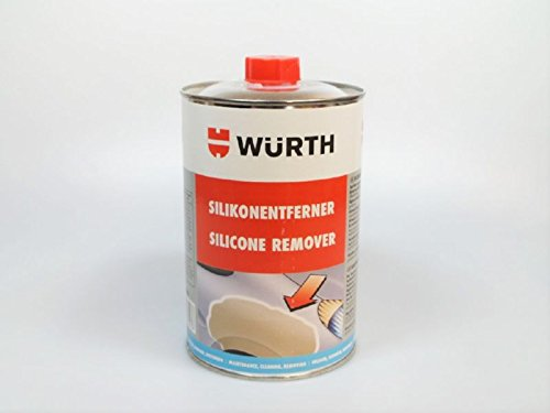 Würth transparent silicone remover (4011231834476 1lt AOX-free degreaser cleaner
