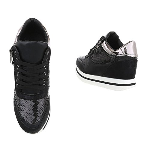 Ital-Design - Low-top Donna Nero