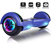 Jolege Hoverboard With Bluetooth Speaker, Electric Scooter Adult, Self Balancing Scooter 6.5