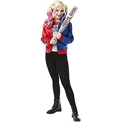 Rubie's - Disfraz oficial de Suicide para adolescentes Harley Quinn Joker
