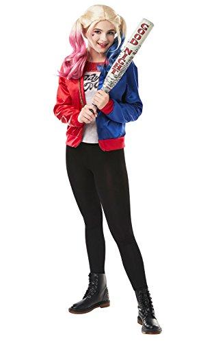 Rubie's 680009 Offizielles DC Suicide Squad Teen Harley Quinn Joker Kostüm Kit