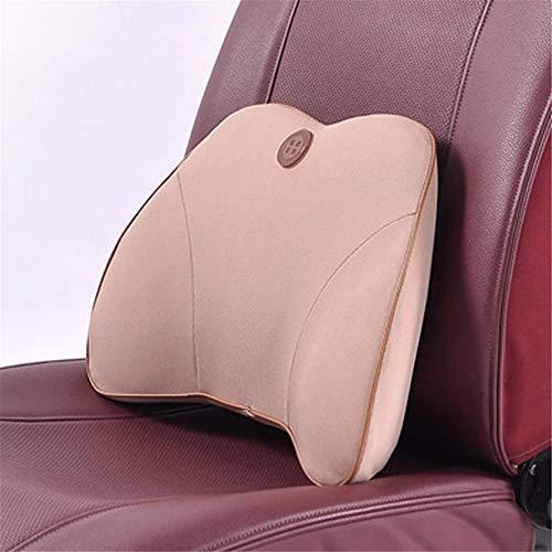 Almohada lumbar Premium-respaldo lumbar completo respaldo silla respaldo para coche-reducción del dolor de espalda-memoria espuma ortopédica respaldo-ciática alivio del dolor cojín